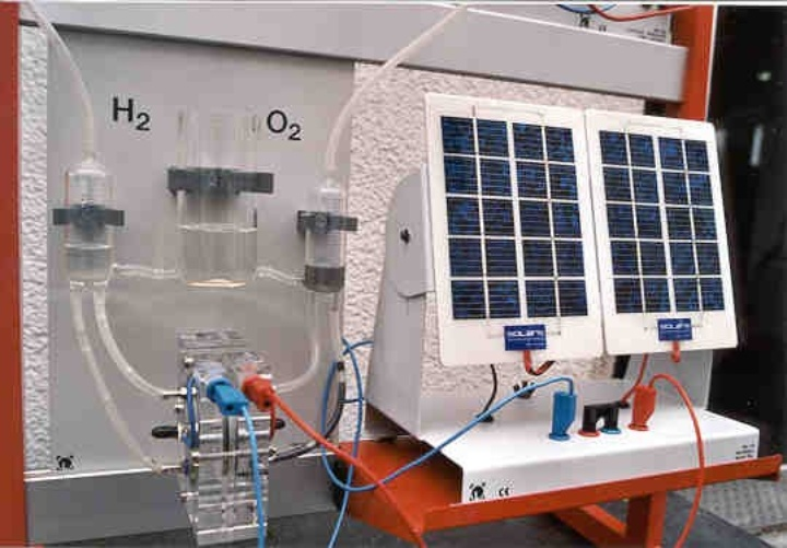 Experimental setup for Fuel cell